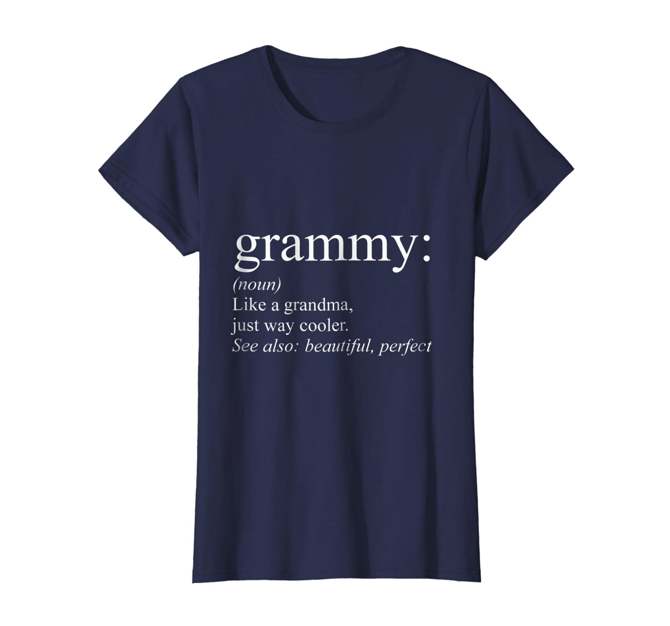 e200bcbf Amazon.com: Grammy Tshirt Funny Grandma Tshirt Grandma: Clothing