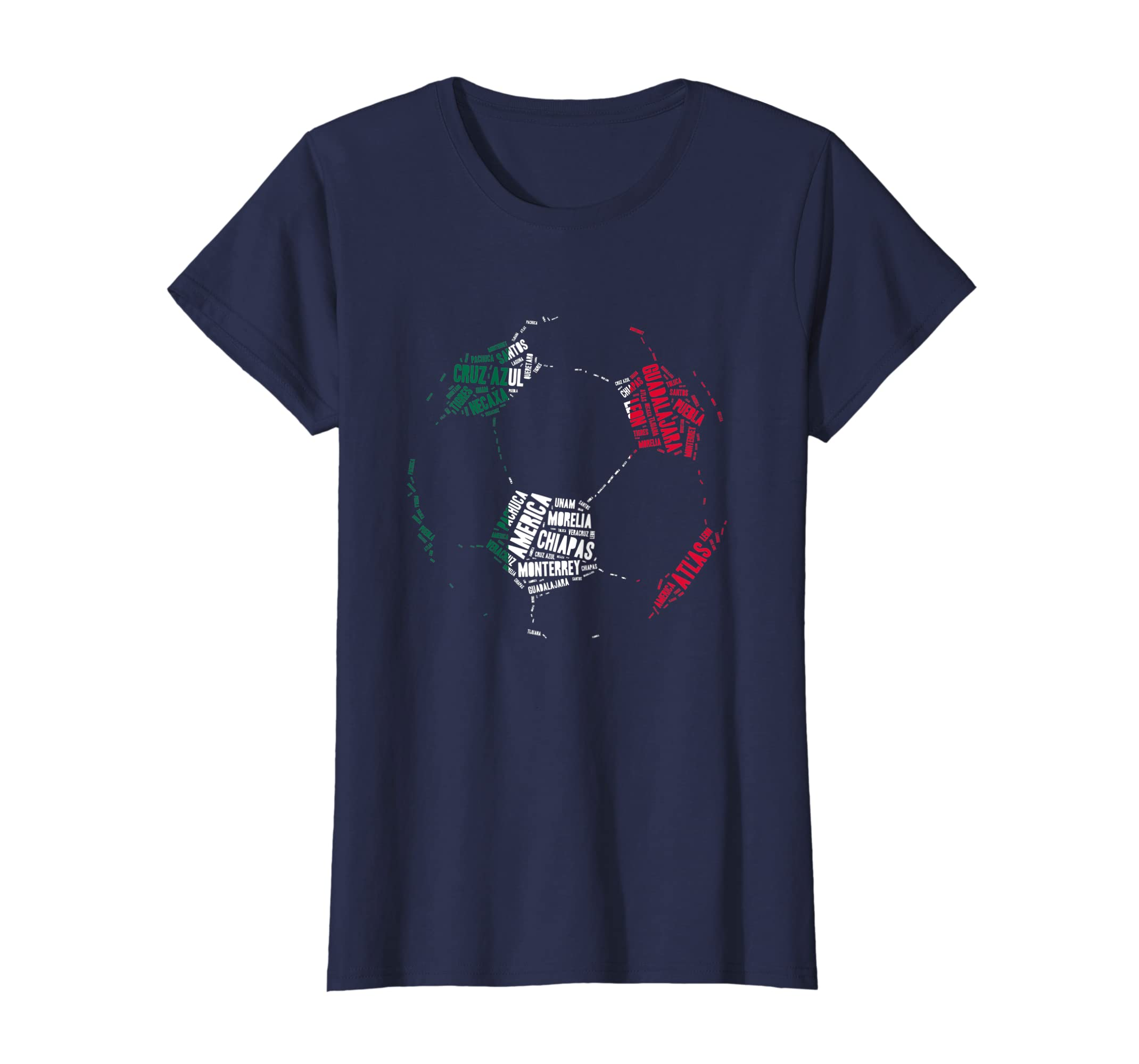 4d13aa79d9f89 Amazon.com  Camiseta Equipos de Futbol Mexico - Mexican Soccer T-Shirt   Clothing