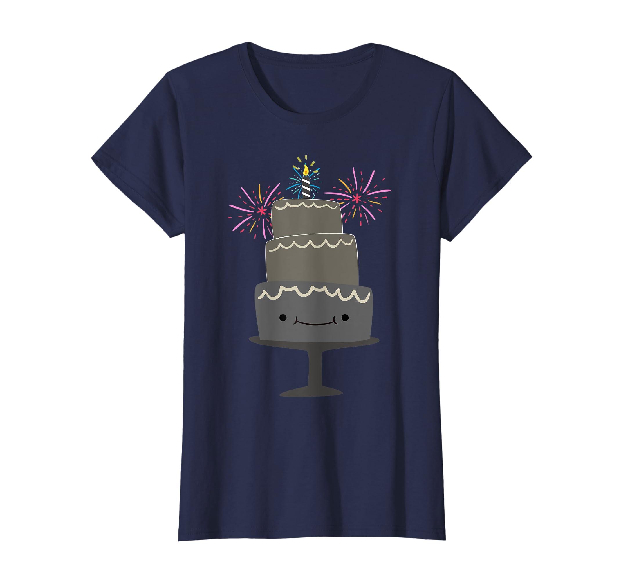 Amazon Birthday Shirts For Kids Happy Cake Shirt Clothing