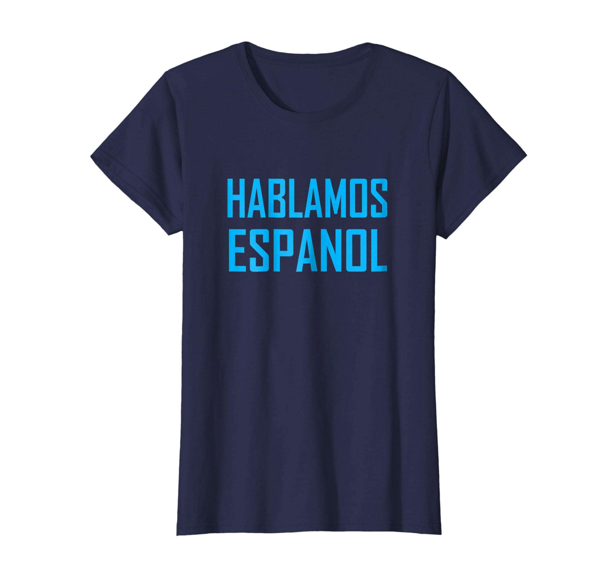 Amazon.com: Hablamos Espanol - Regalo de Cumpleanos o ...