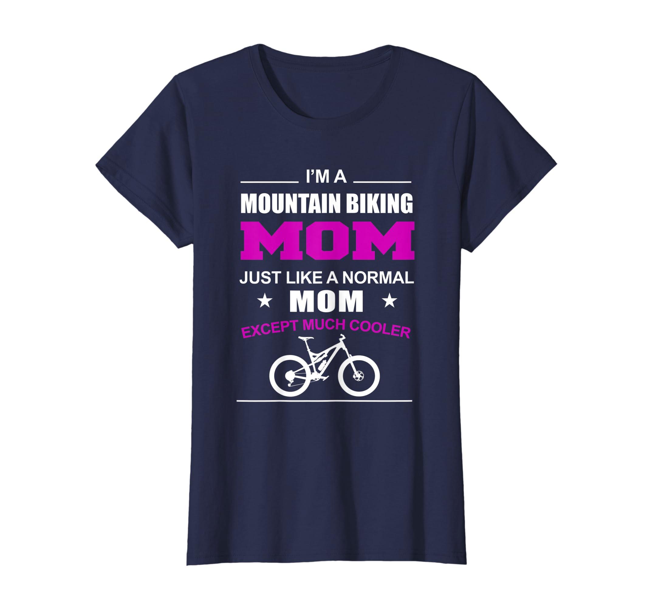 Amazon Com Funny Mountain Bike Shirts Mountain Biking Mom T Shirt