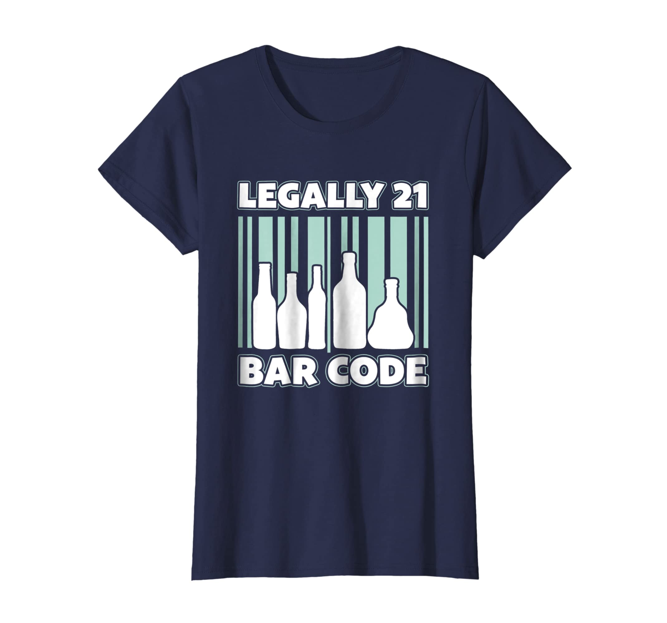 Amazon 21st Birthday Party Legally 21 Bar Code T Shirt Clothing