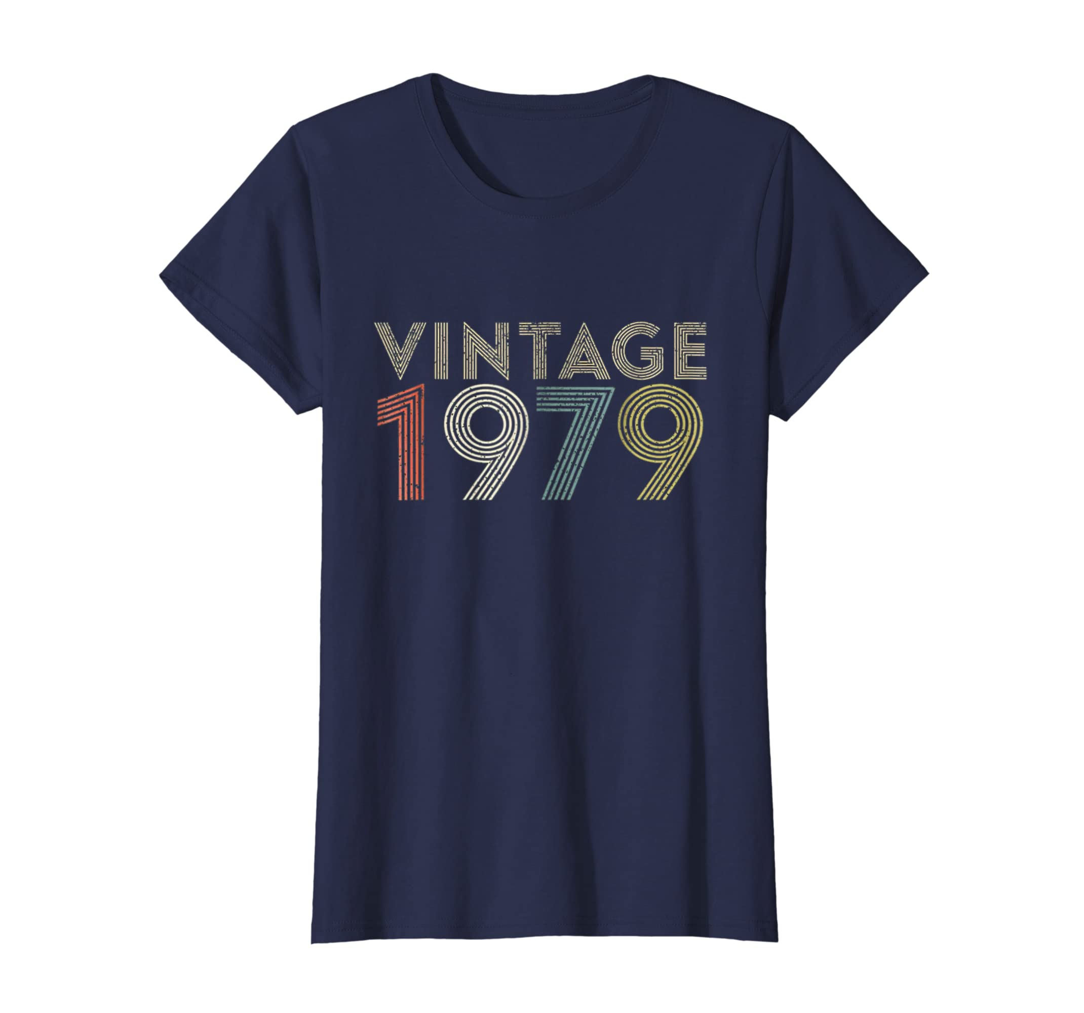 Amazon 40th Birthday Gift Vintage 1979 T Shirt Classic Men Women Clothing