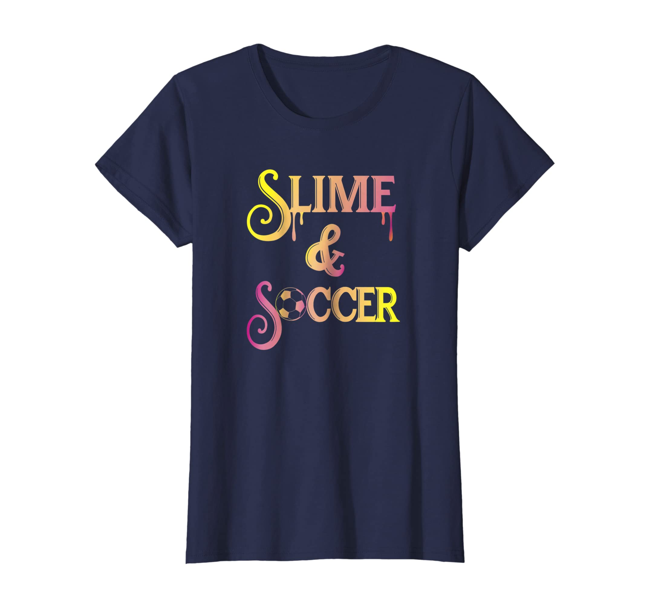 a06439de9 Amazon.com: Slime Shirts for Girls Soccer Girl Gifts: Clothing