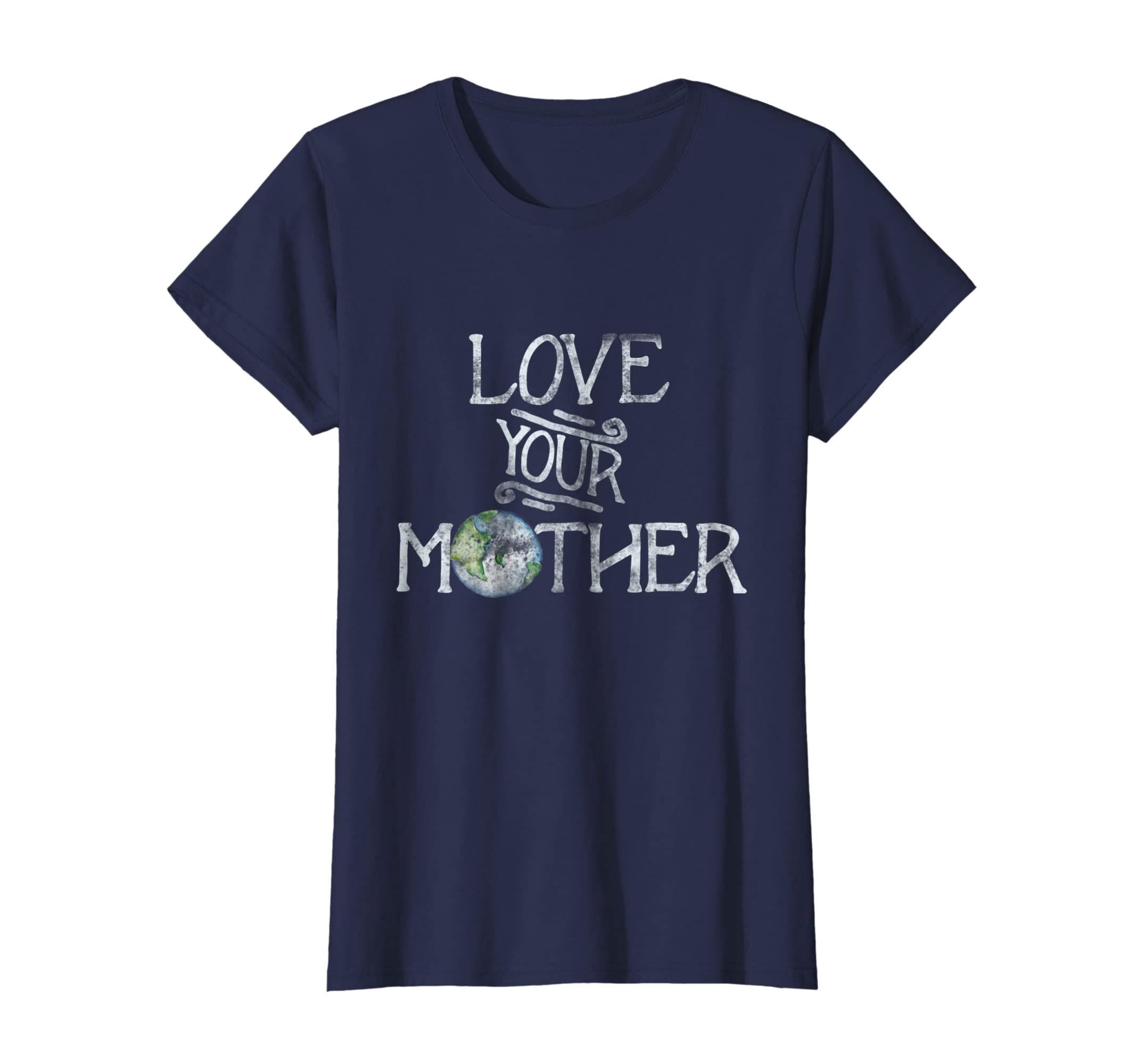 876f4bdaa Amazon.com: Love your mother earth t-shirt vintage style earth day tee:  Clothing