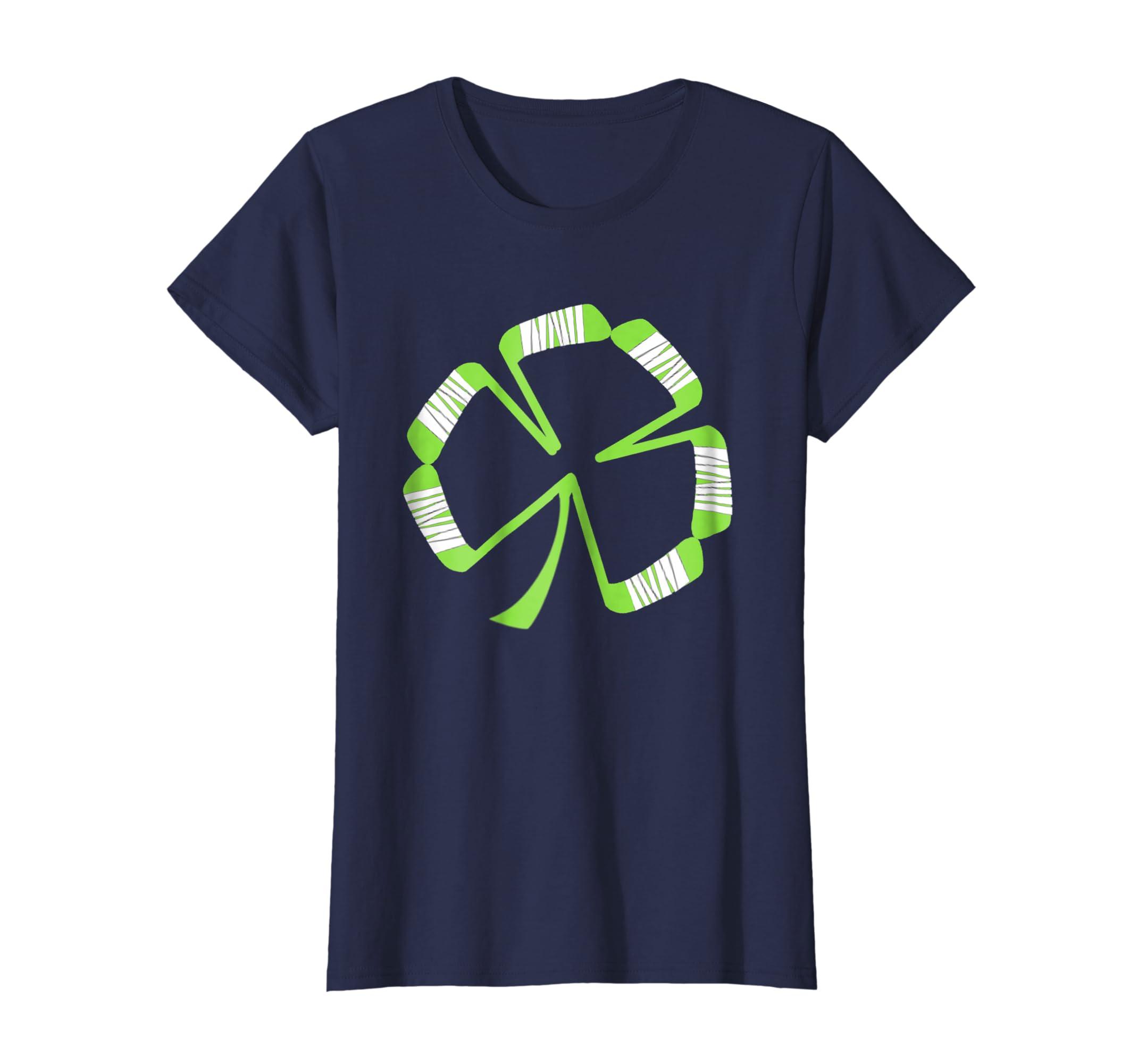 f5f720201 Amazon.com: St Patrick's Hockey Shamrock T Shirt Gift Women Men Kids:  Clothing