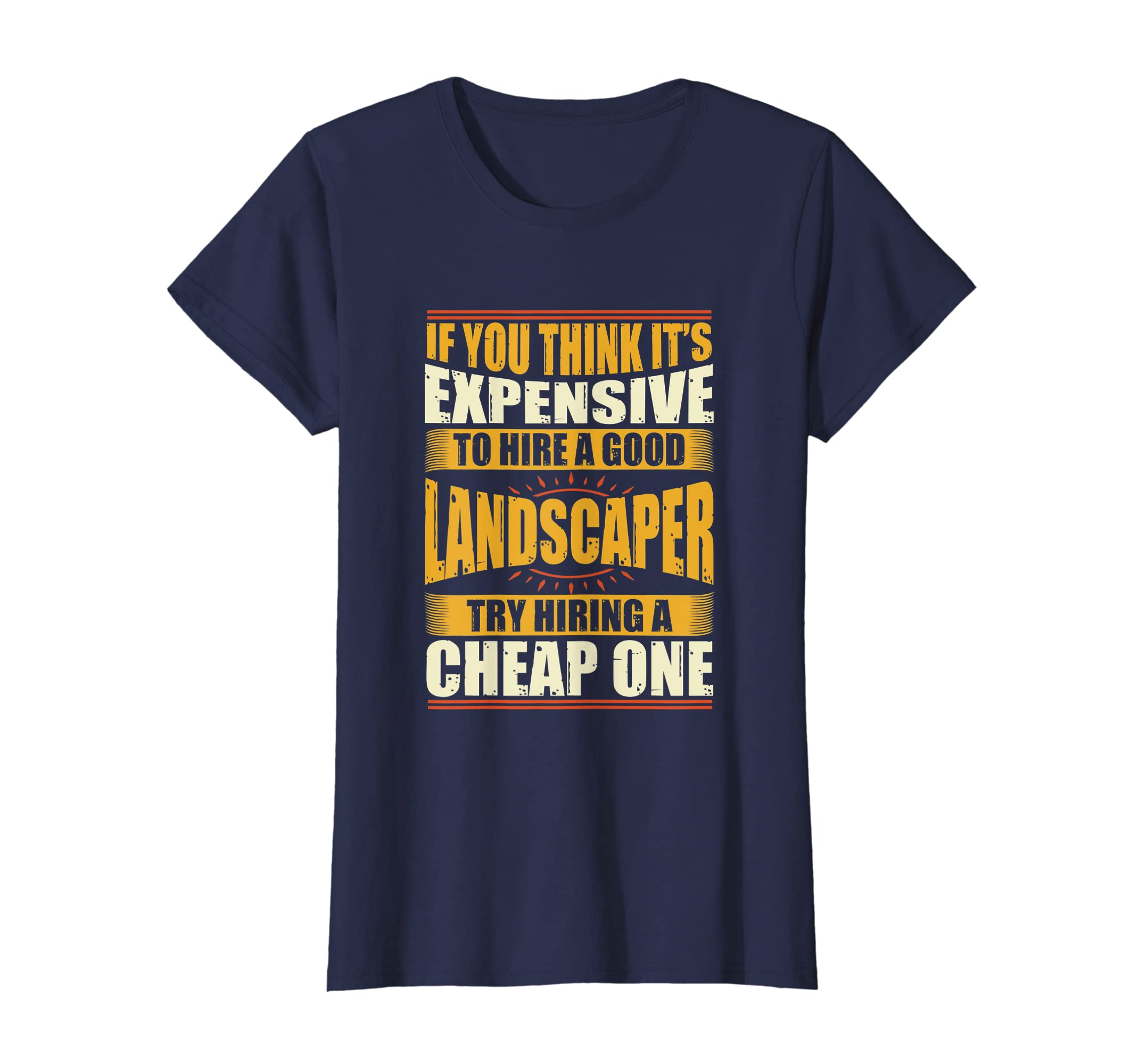 e6fd0d4c3 Amazon.com: Mens Womens Funny Landscaper Shirts Landscaping Shirt c50:  Clothing