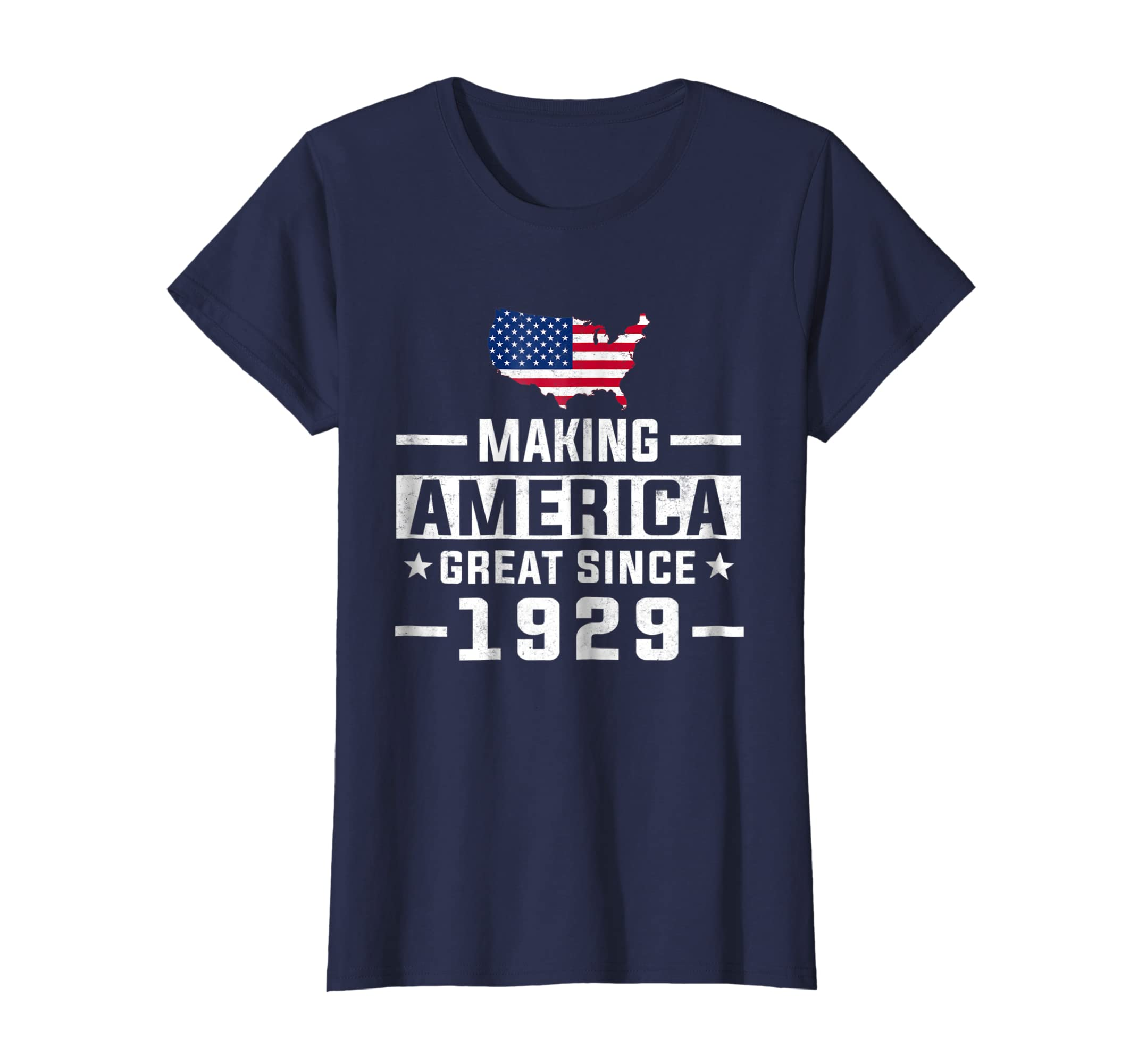 Amazon Making America Great Since 1929 90th Birthday T Shirt Gifts Clothing