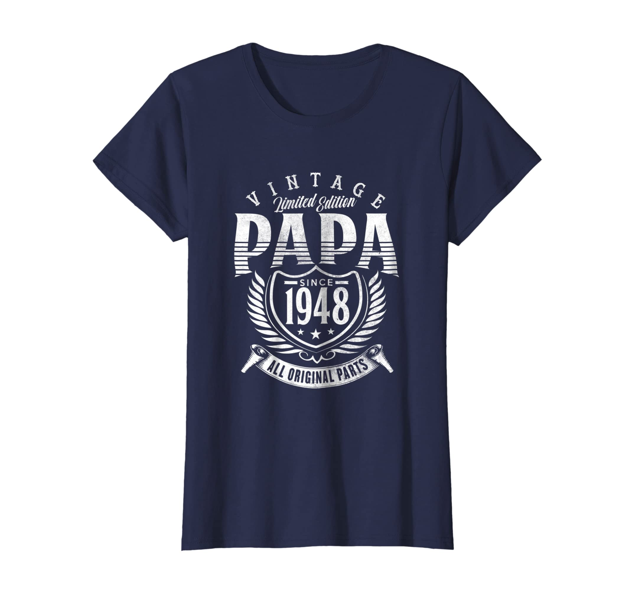 Amazon Vintage 70th Birthday Papa Gift Since 1948 Dad T Shirt Clothing