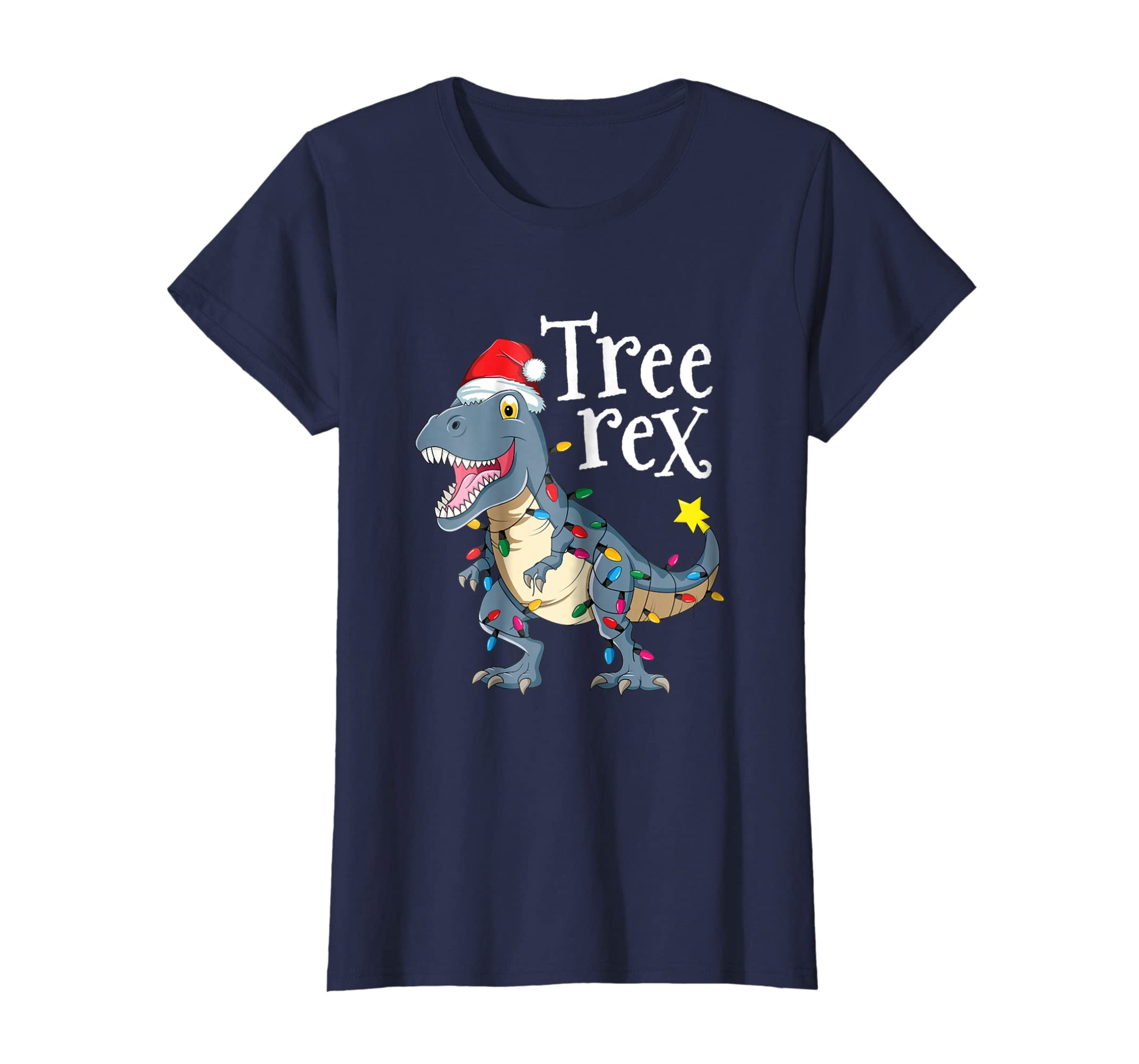 Amazon.com  Tree Rex Dinosaur Christmas T-Shirt Boy Kid Men Gift Pajama   Clothing 906cc3f30
