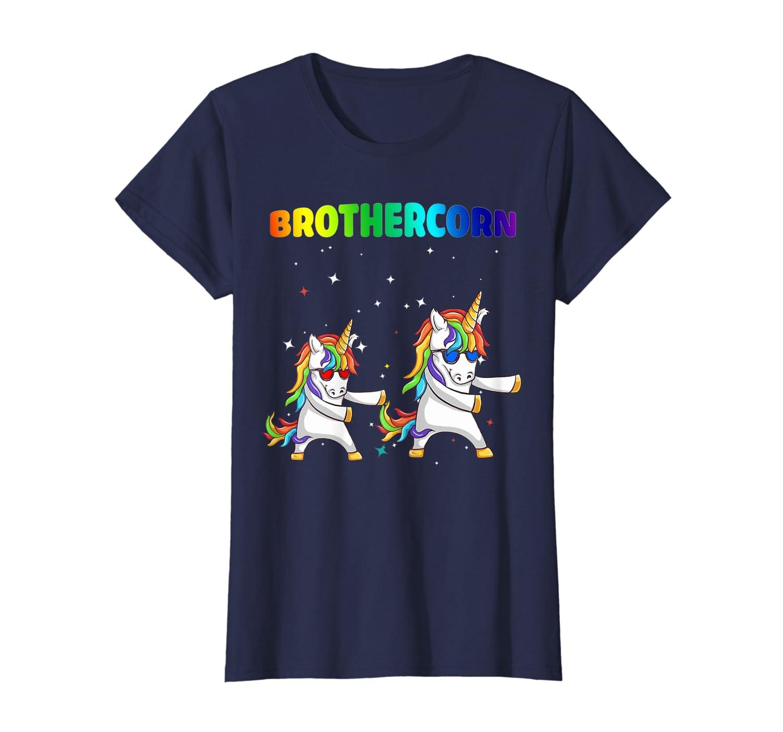 Brothercorn Funny Unicorn Brother Family & Birthday TShirt-Loveshirt