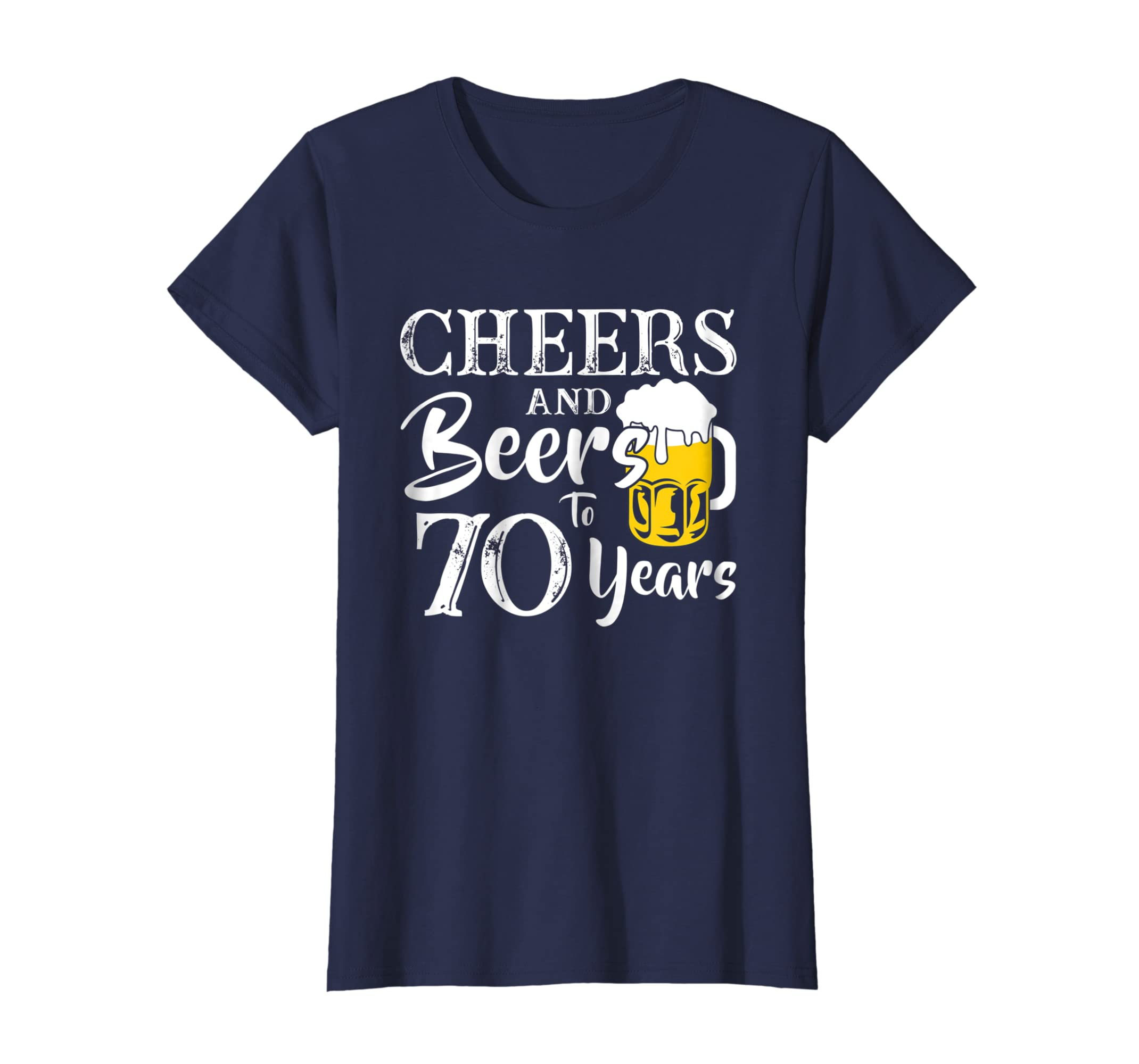 Amazon Cheers And Beers 70 Years Old 70th Birthday Gift 1948 Shirt Clothing