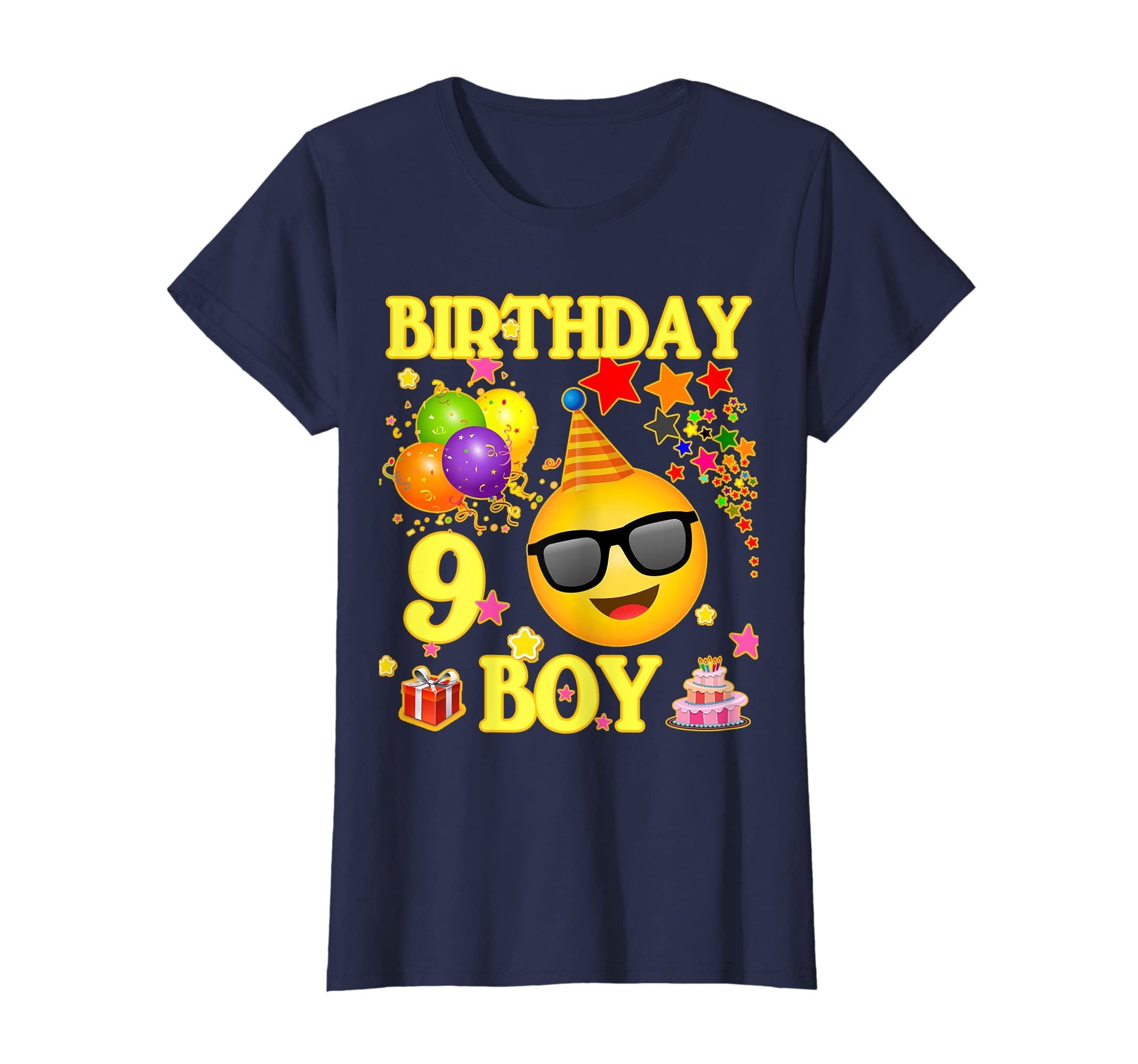 Amazon 9 Birthday Boy Shirt Years Old 9th Gift Clothing