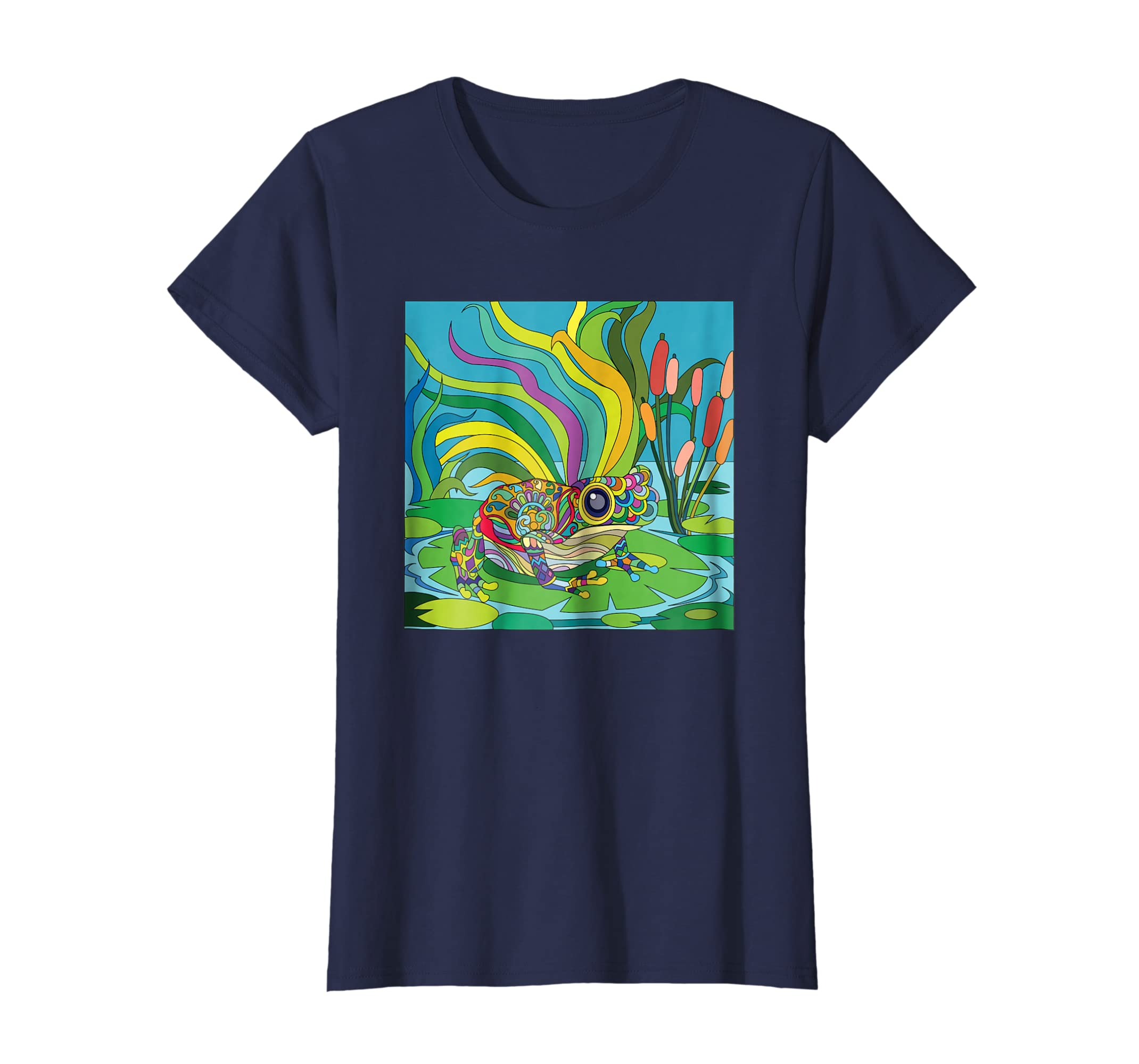 Amazon Lucky Frog Custom T Shirts With Designs By Exotic
