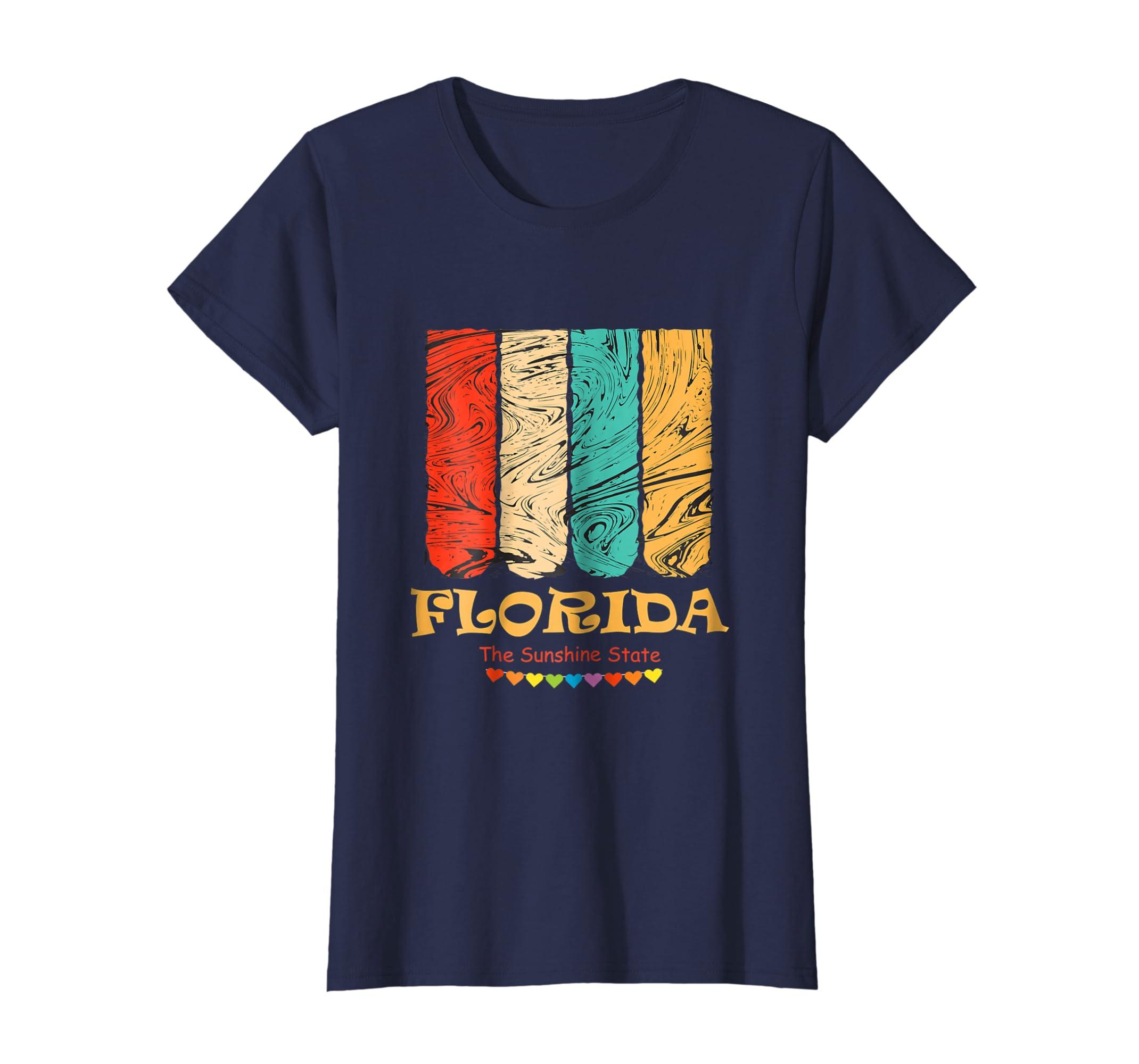 Amazon Retro Florida T Shirt Vintage 70s 80s Shirt Design Clothing