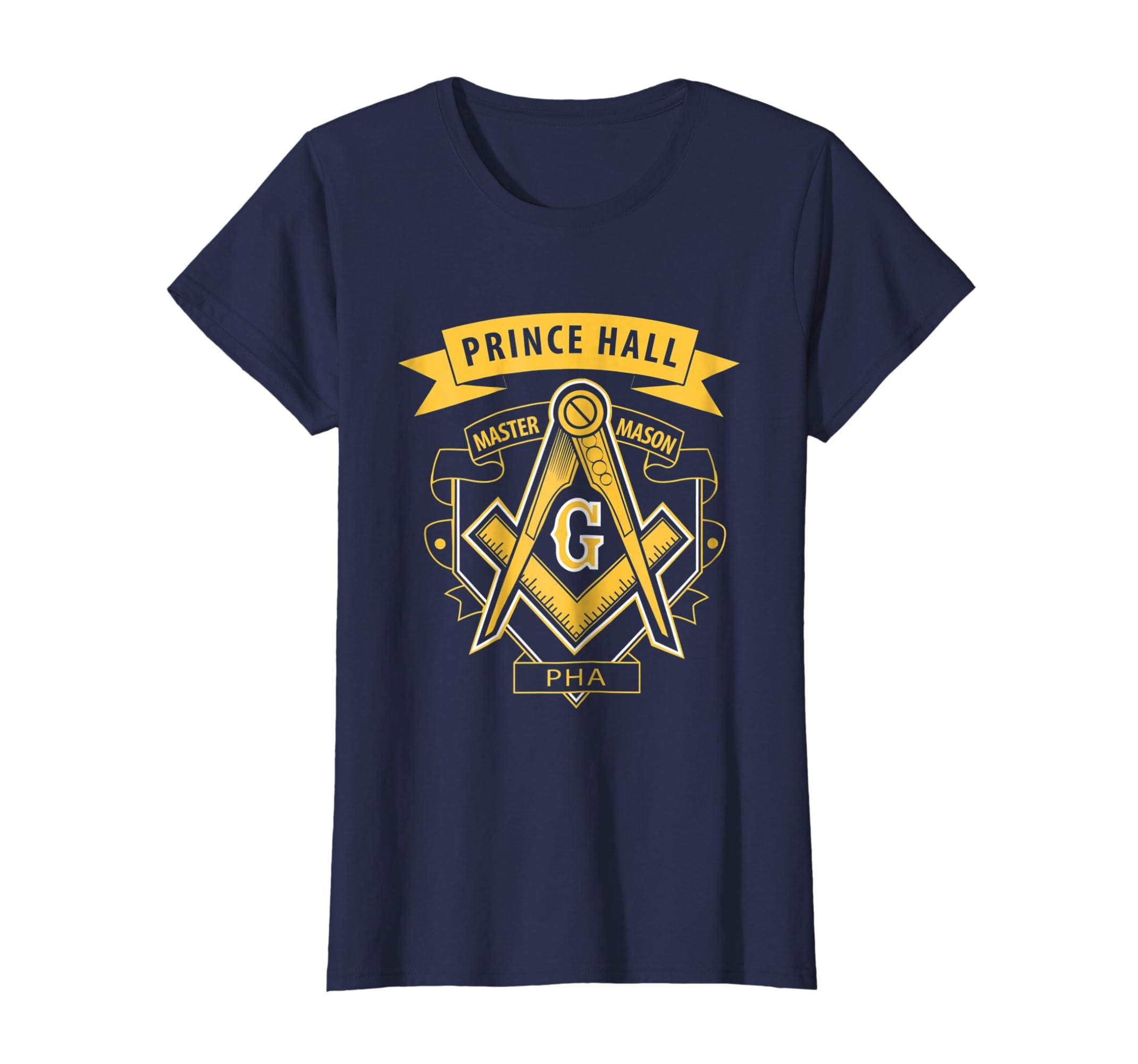09cb039a Amazon.com: Freemason: Prince Hall Master Mason PHA T-Shirt Gift: Clothing