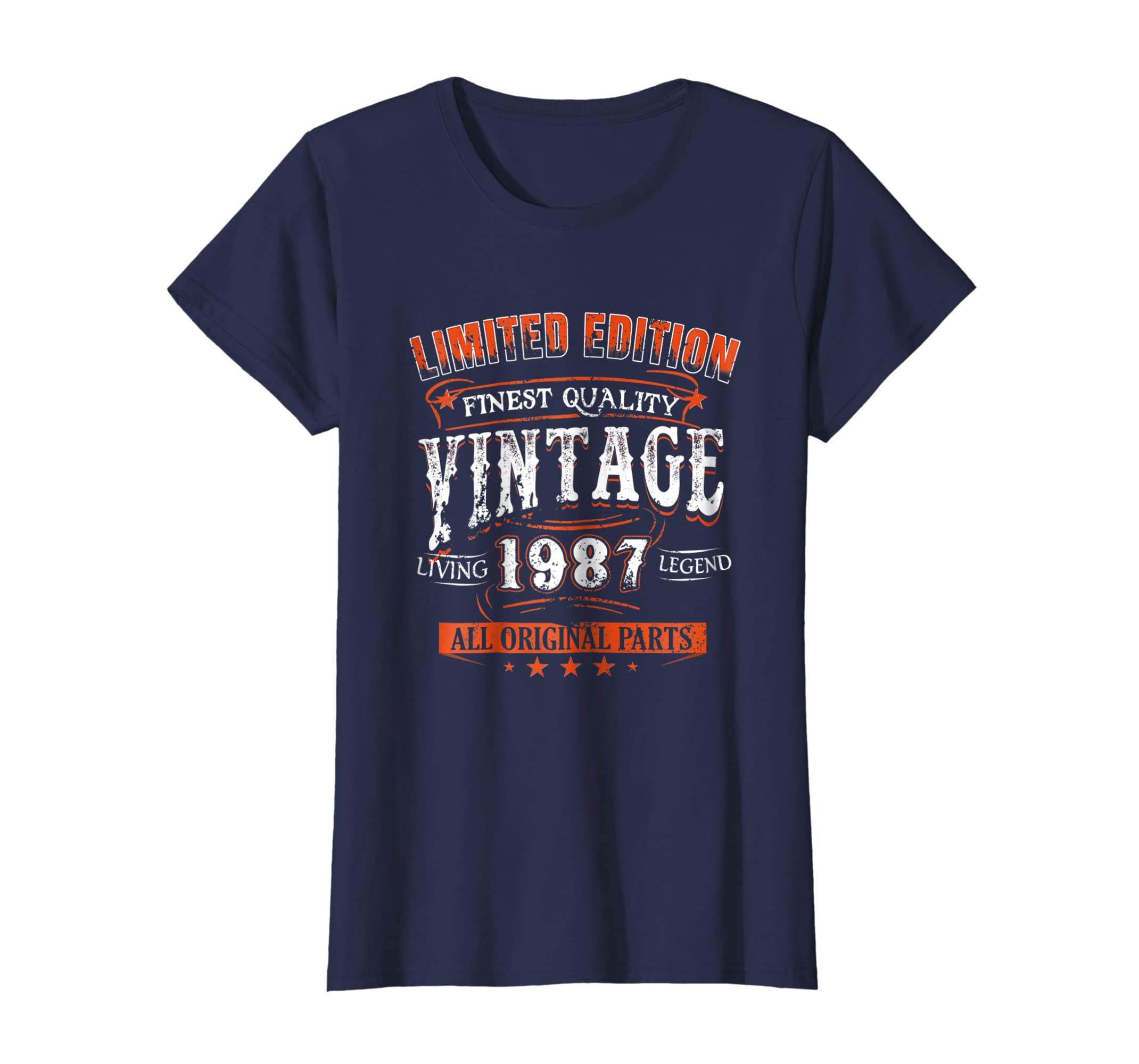 Amazon 1987 T Shirt 30th Birthday Gifts 30 Year Old B Day Vintage Clothing