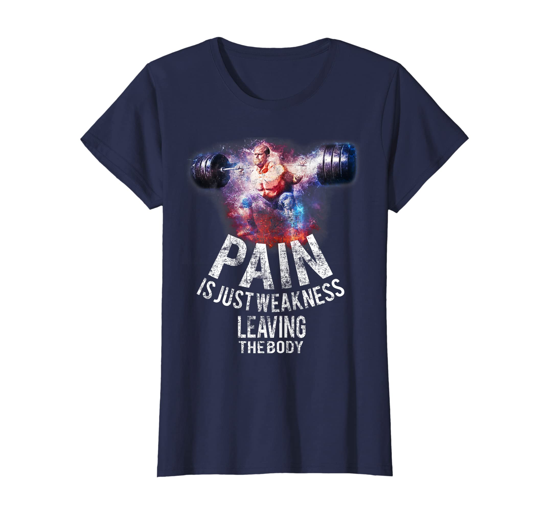 Amazoncom Pain Is Just Weakness Leaving The Body Gym Workout Shirt