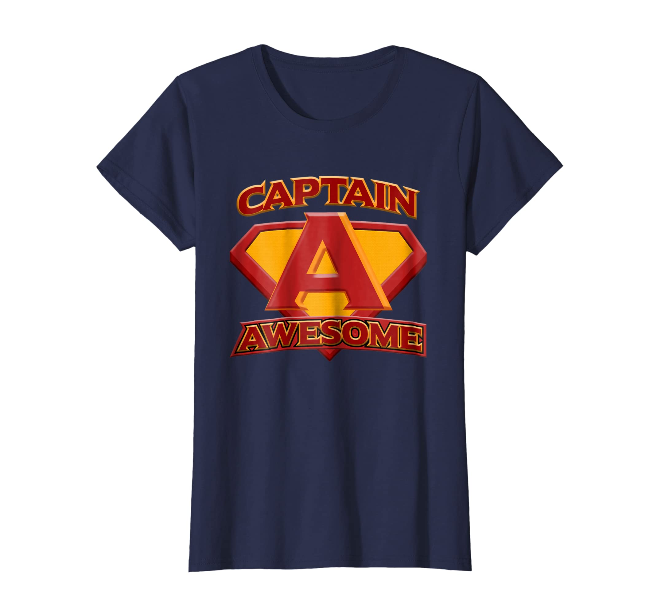 04d0b4b7 Amazon.com: Funny t shirt, Captain AWESOME: Clothing