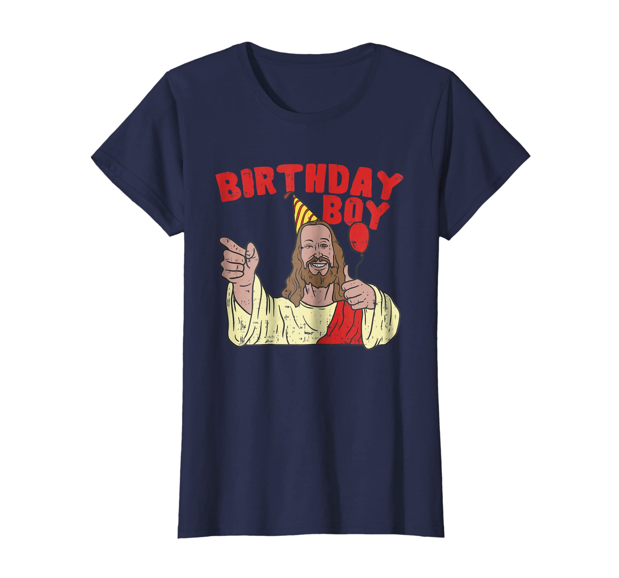 Amazon Christmas Birthday Boy Shirt Funny Jesus Christian Gift Clothing