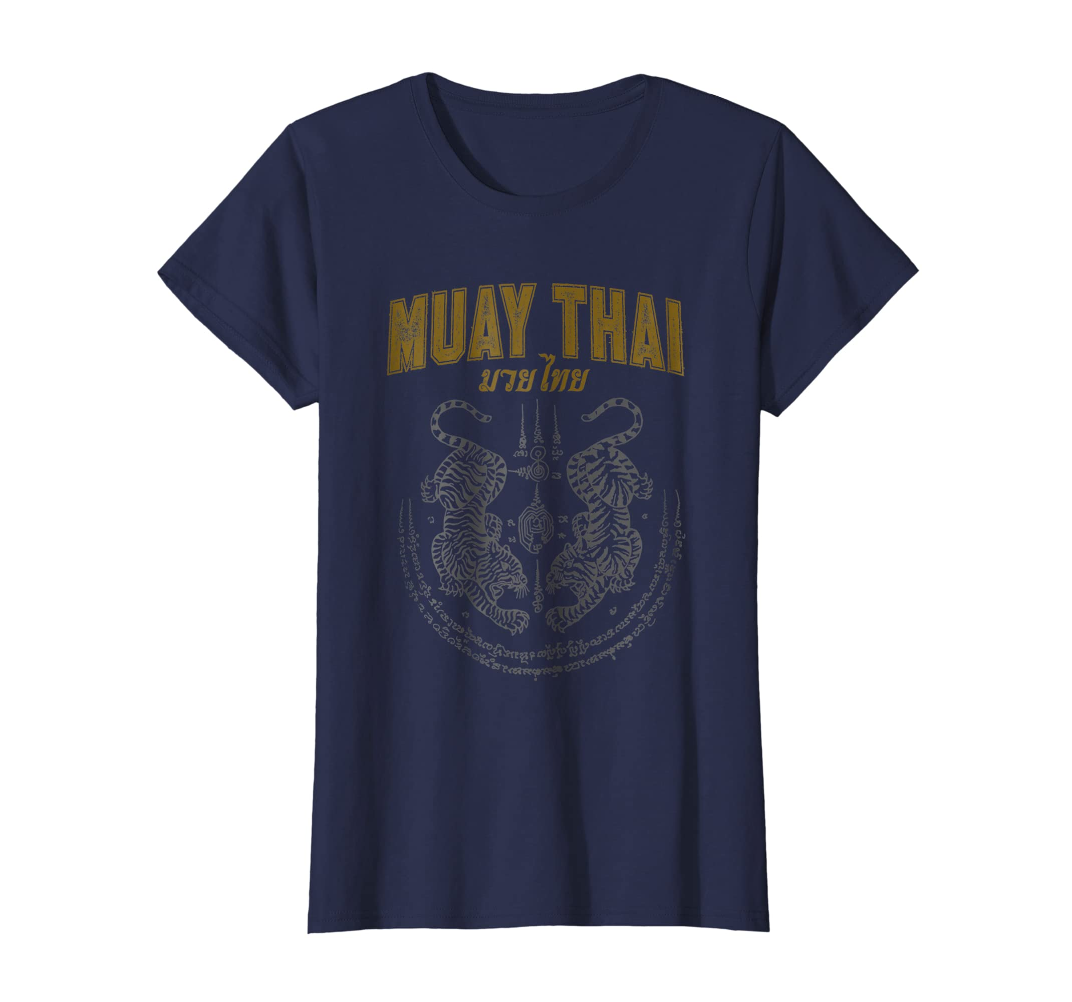 4adf1410231da Amazon.com: Twin Tiger Sak Yant Muay Thai T-Shirt: Clothing