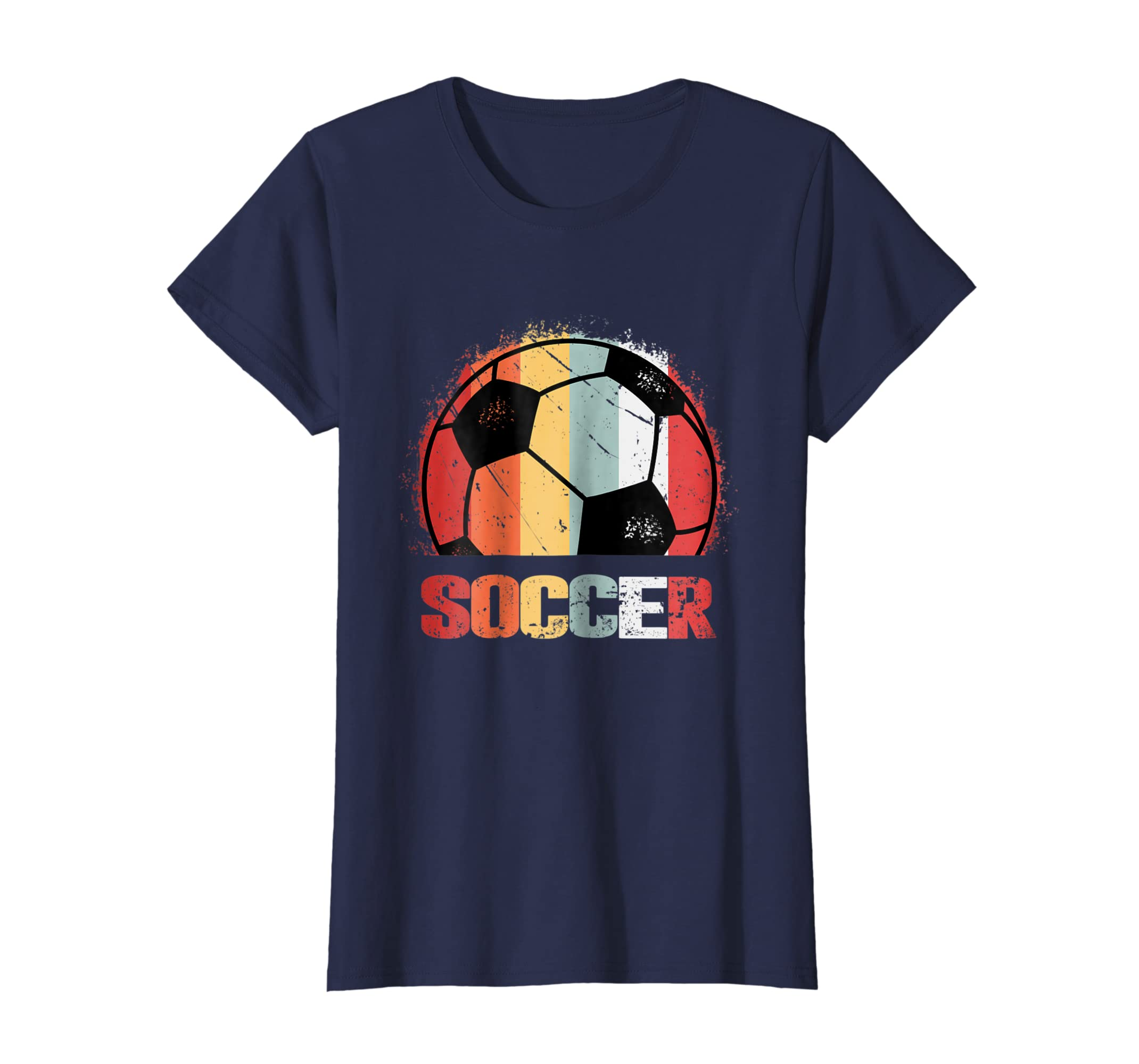 7f6f0d83e Amazon.com  vintage Soccer T-shirt Funny Sports Chirstmas Shirts  Clothing