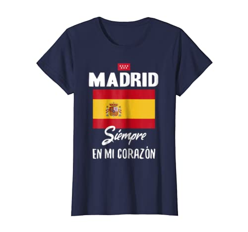 Amazon.com: Madrid T Shirt Camisetas Spain Flag Spanish Gifts Souvenirs: Clothing