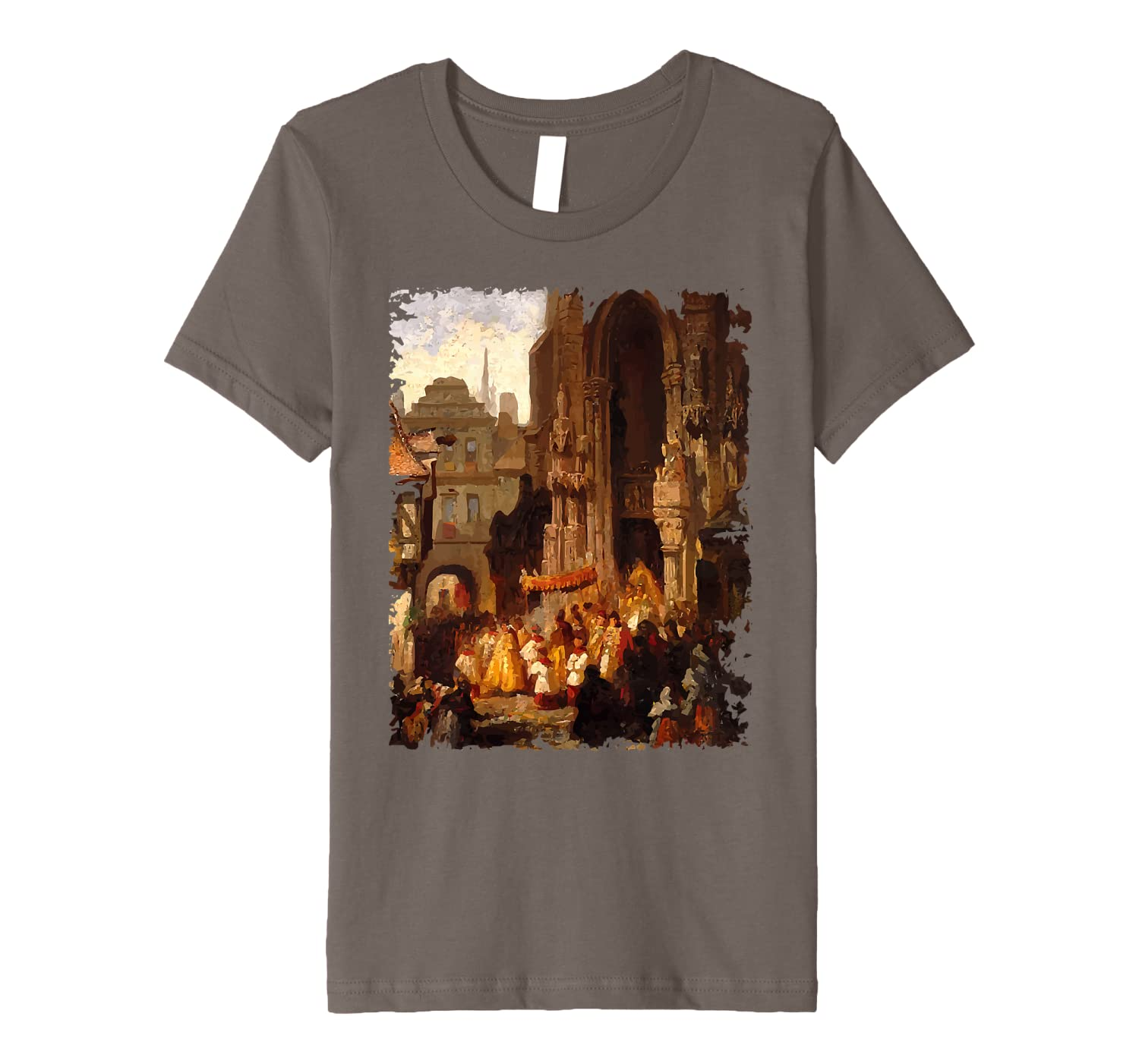 Corpus Christi Procession Catholic Feasts Gifts for Priests Premium T-Shirt
