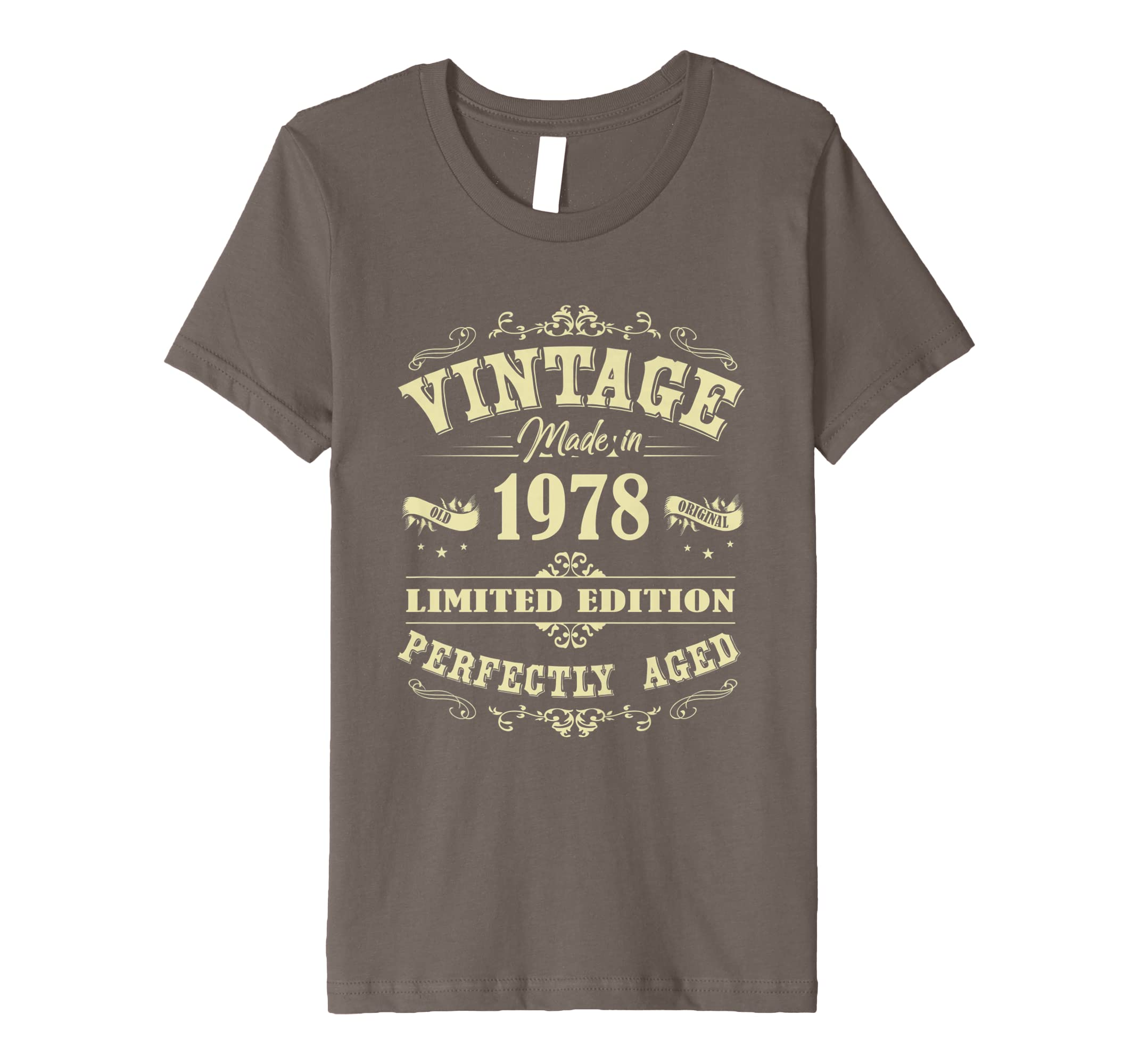 Amazon Made In 1978 Vintage 40th Birthday Shirt Gift P1 Clothing