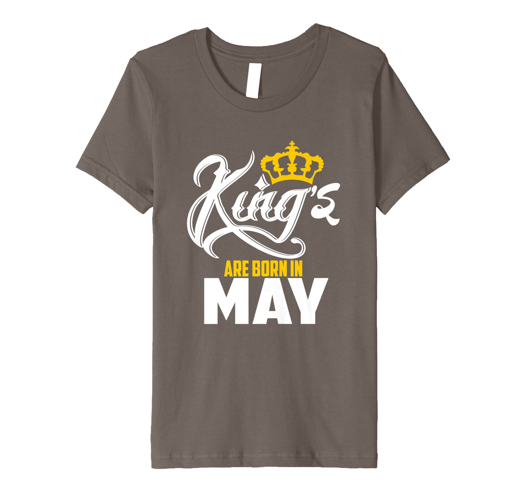 68c8989c292 Amazon.com  Kings Legends are born in May birthday t-shirt  Clothing