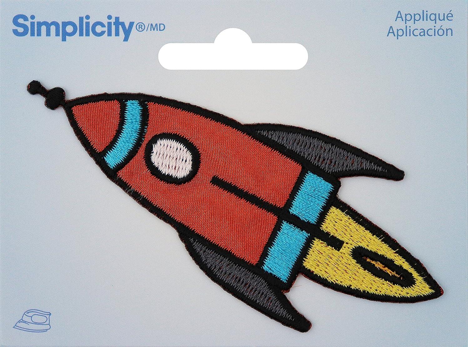 Wrights Spaceship Iron-On Applique