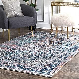 nuLOOM Raylene Persian Vintage Area Rug, 8' x 10', Blue