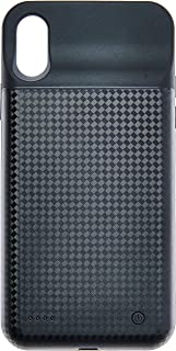Capa Carregadora Iphone X Xs Power Bank de 3500Mah Marca Hoco com Película de Vidro 3D C/Bordas, Hoco, BW6B, Preto