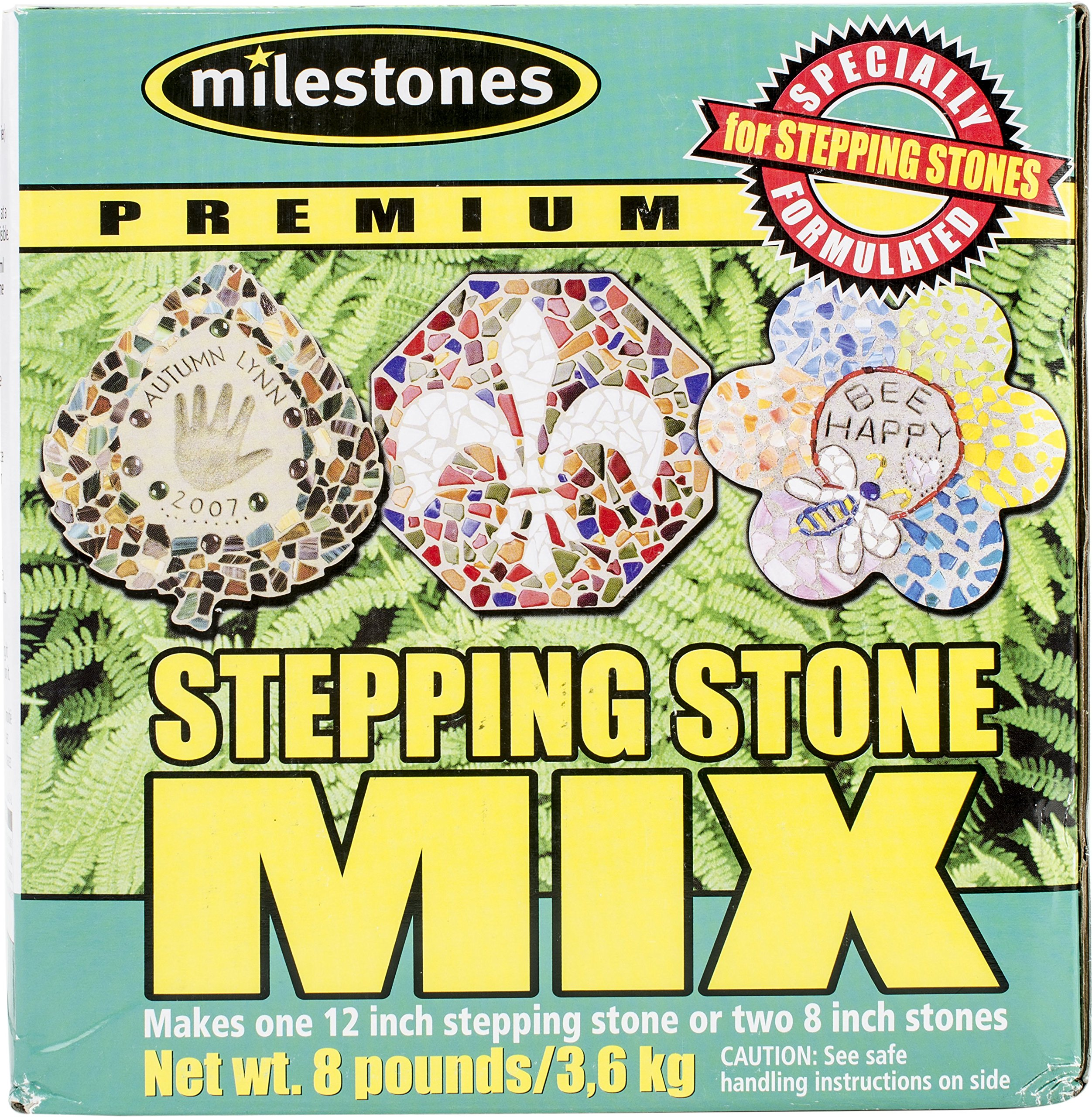 Midwest Products Premium Stepping Stone Cement Mix, 20 Pounds ...