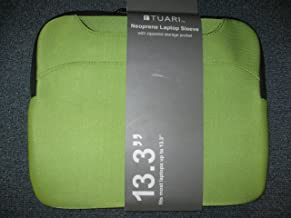 Tuari Neoprene Laptop Sleeve 13.3 GREEN