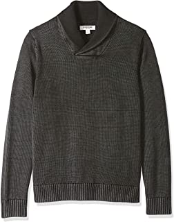 Goodthreads Men's Soft Cotton Shawl Pullover Sweater