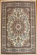 Generations Oriental Traditional Isfahan Persian Area Rug, 8' x 10', Ivory Cream