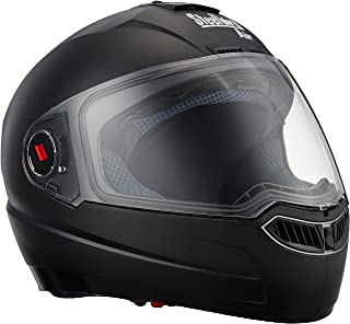 Steelbird Air SBA-1 Matte Full Face Helmet (Black, L)