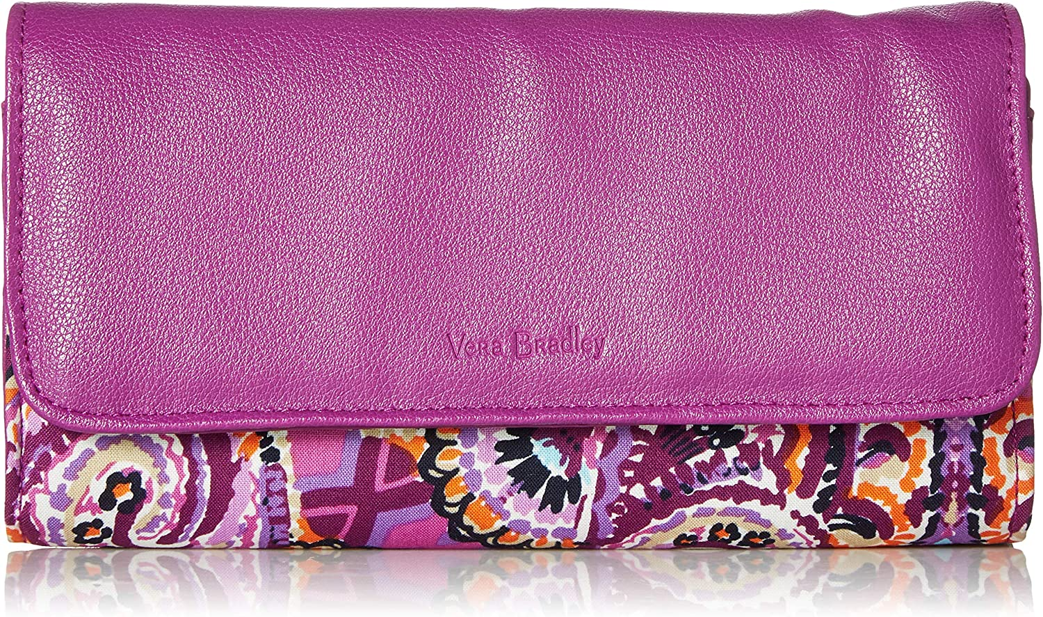 Vera Bradley Women's Protection Signature Mail order cheap RFID Max 65% OFF Wal Audrey Cotton