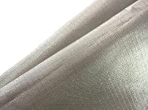 JWtextec Conductive Fabric EMI Shielding Ripstop Style Copper/Nickel Coating Fabric (39.37x19.685 Inches(1mX0.5m))