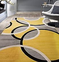 Amazon Com Grey Yellow And White Living Room Decor