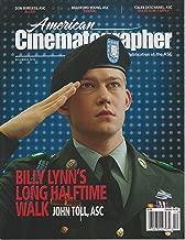 American Cinematographer Magazine December 2016 Billy Lynn's Long Halftime Walk John Toll, ASC
