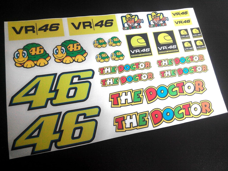 Pegatinas Kit Rossi ECO13 Stickers Valentino AUFKLEBER Decals ADESIVI