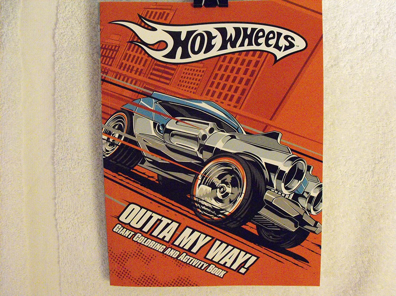 Hot Wheels Farbeing and Activity Book  Outta My Way  B003J8P2H6   Klein und fein