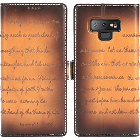 Lomogo Leather Wallet Case for Samsung Galaxy Note 9 with Stand Feature Card Holder Magnetic Closure LOTXI150272 L1 Shockproof Flip Case Cover for Galaxy Note9