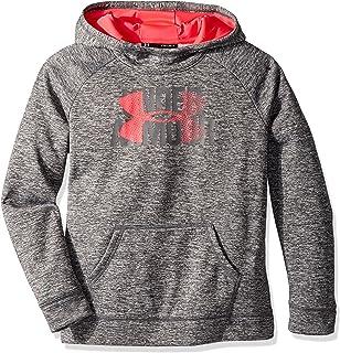 Under Armour Girls' Armour Fleece Big Logo Printed Hoodie