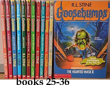 Goosebumps (original series) Set, Books: 25-36