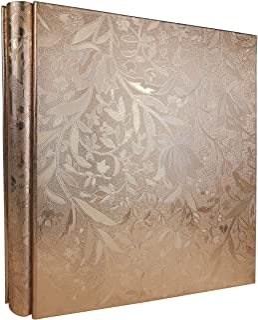 RECUTMS Photo Album 600 Pockets Black PU Leather Book Pockets Hardcover Photo Frame 4x6 Photos Wedding Gift Valentines Day...