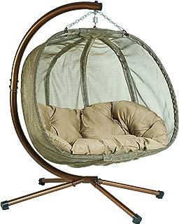 hanging papasan chair indoor