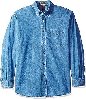 AquaGuard Men's HART-M550-Long-Sleeve Denim Shirt